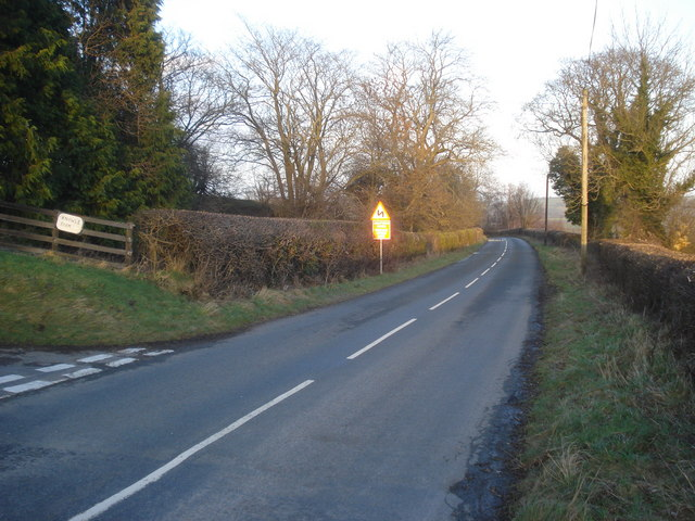 B4372 near Knowle Farm