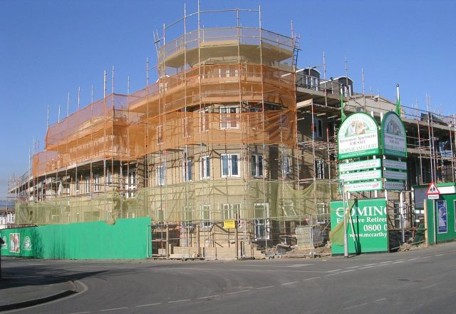 Retirement Apartments under construction - Oxford Road