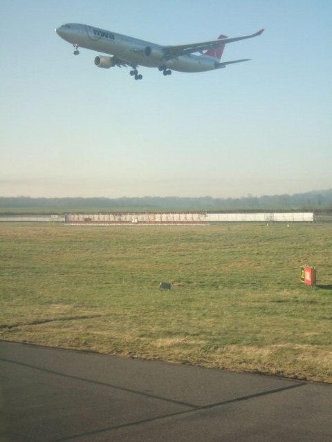 Western Perimeter at Gatwick Airport