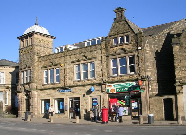 Barclays Bank & Guiseley Post Office - Oxford Road