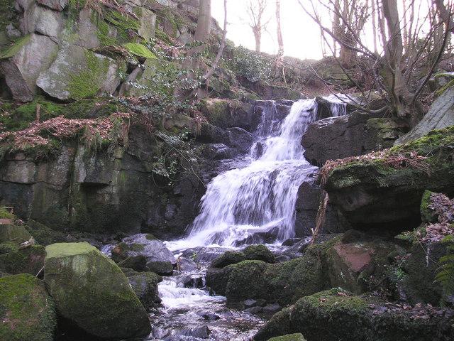 Waterfall on Steeton Beck