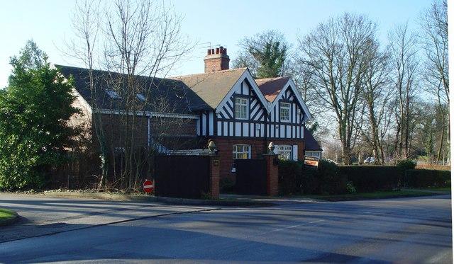 Cottages near Home Farm