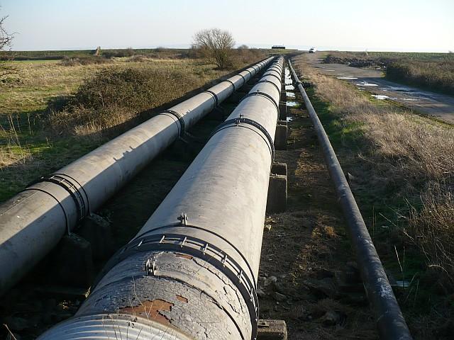 British Steel pipeline, Caldicot Level