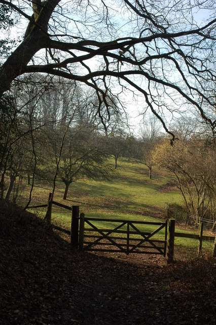 Gate into an old orchard, Knightwick