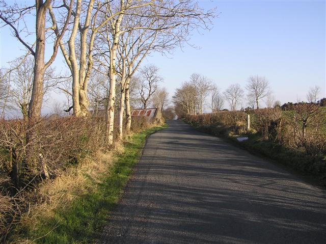 Road at Skelpy