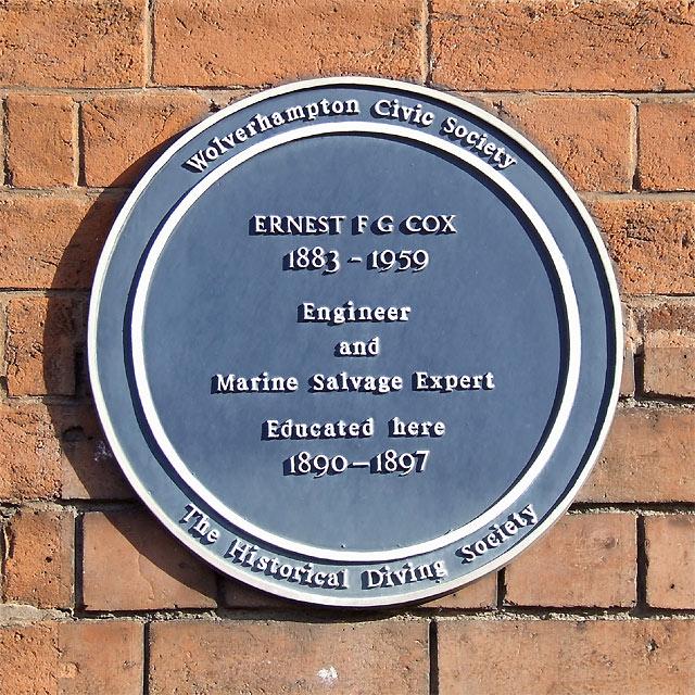 Ernest Frank Guelph Cox, Wolverhampton