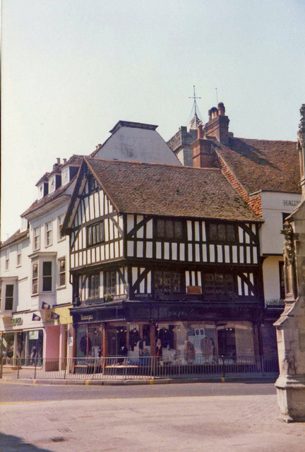 Corner of Silver Street and Minster Street, Salisbury, Wiltshire