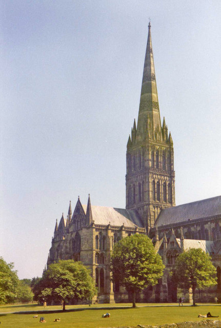 Salisbury Cathedral, Salisbury, Wiltshire.