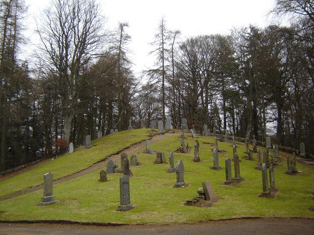 Cemetery near Dykehead, Angus