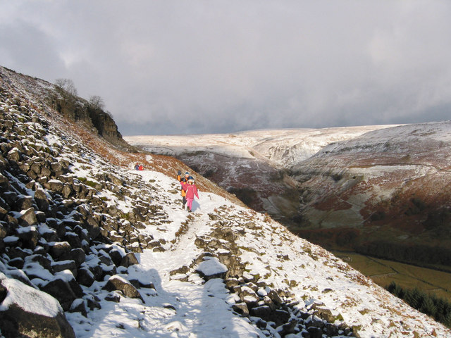 Bad weather heading for  Swaledale