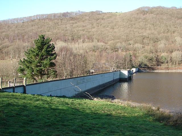 The Rheidol dam