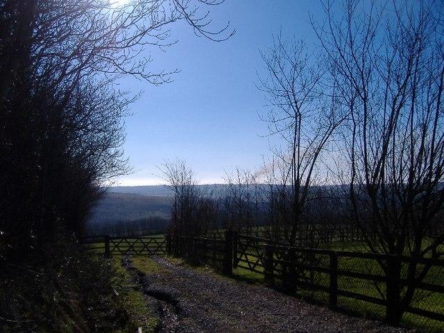Towards Liscombe Farm