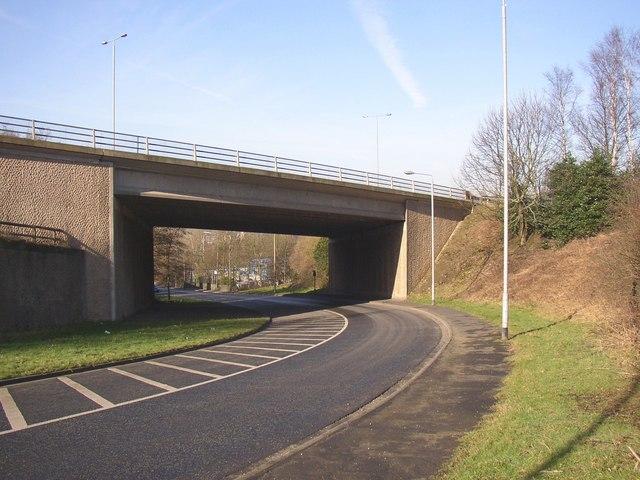Bridge under the Elland bypass