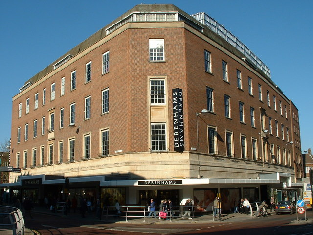 Debenhams Norwich