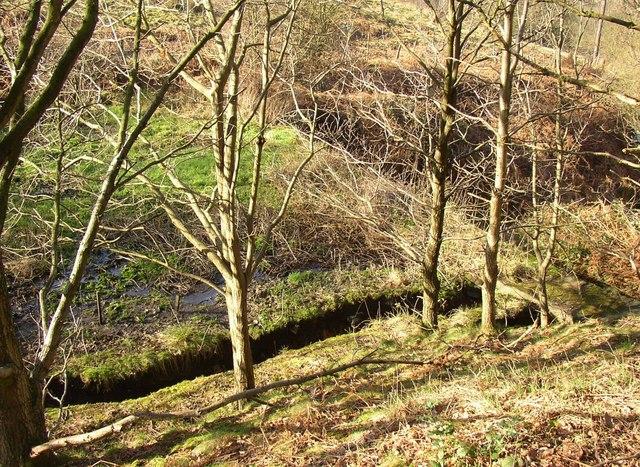 The upper reservoir, Tong Royd, Elland