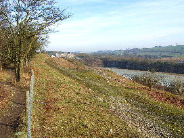 Footpath at Lea Quarry