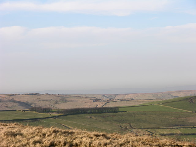 View across Alden Valley