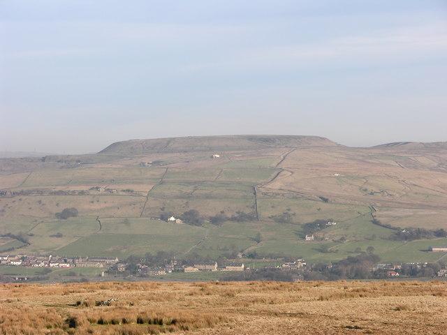Dearden Moor with Cowpe Lowe behind