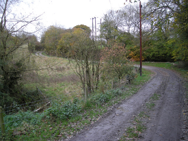Farm track at Wyke