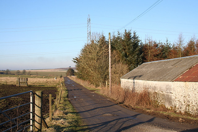 Lane to the west of Moss Croft