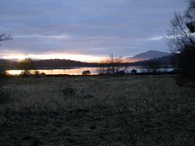 Evening on Loch Insh