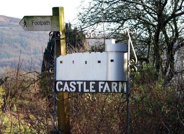 Castle Farm Sign