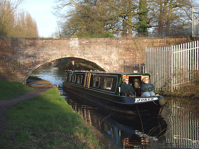 Staffordshire and Worcestershire Canal near Wolverhampton