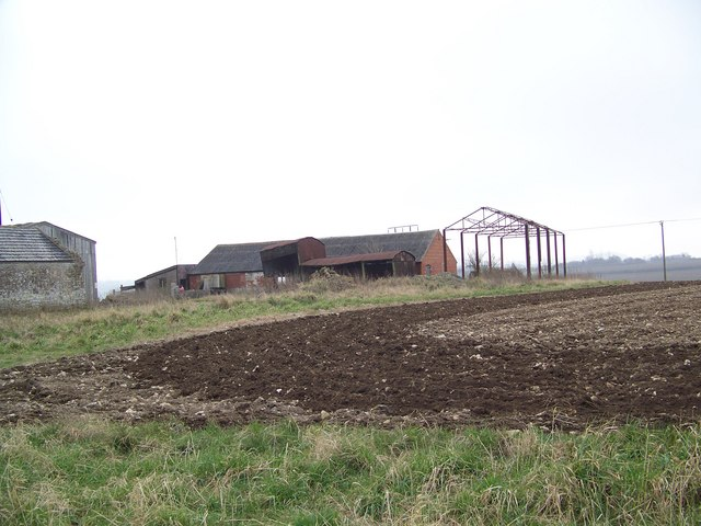 Derelict farm buildings at Weaveland Farm, Tisbury