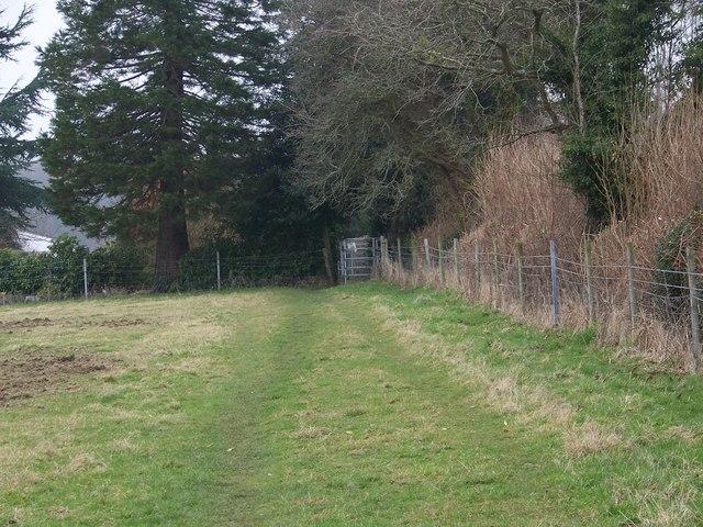 Kissing gate near Fonthill Bishop