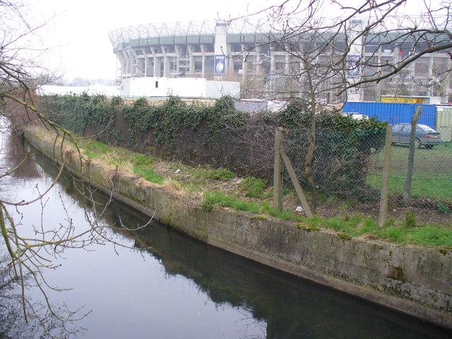 Twickenham from Chase Bridge