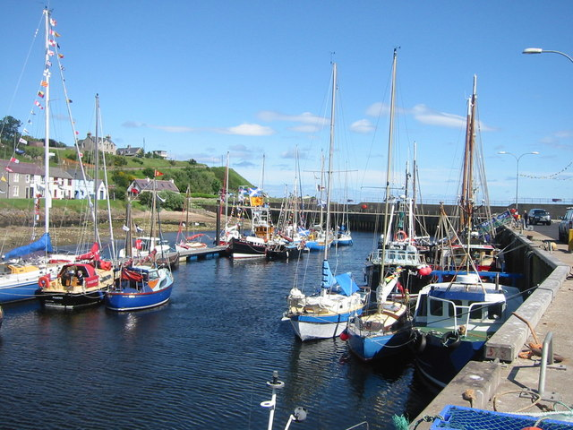Gala Day at Helmsdale Harbour