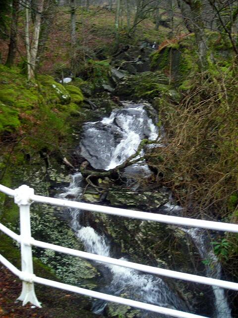Waterfall on Small Burn Near Loch Katrine