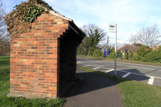 Bus Shelter near Cavendish Bridge