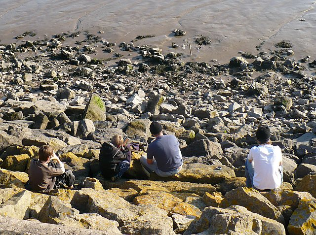 Target practice, Severn Estuary