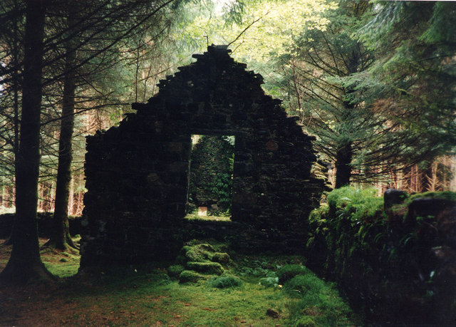 The ruin at  Barr