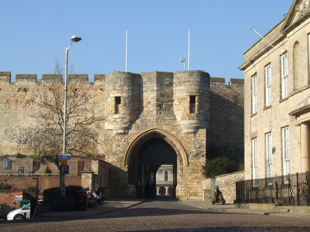 East Gate, Lincoln Castle, Lincoln