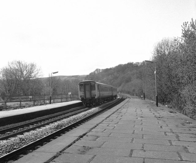 Looking west from Todmorden