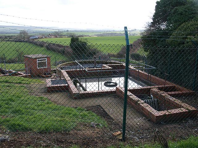 Sewage works near Mickleby