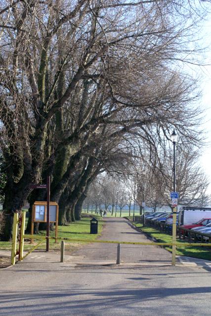 West Park - main entrance