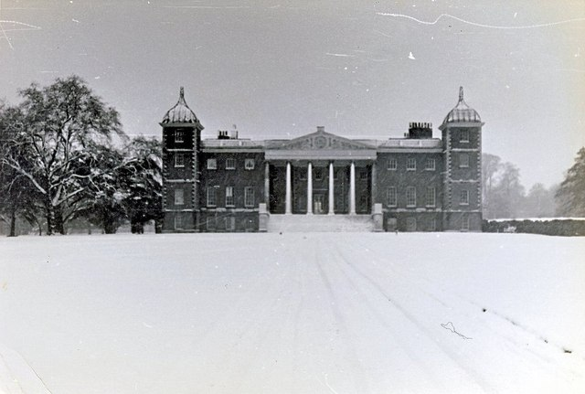 Osterley House in Winter