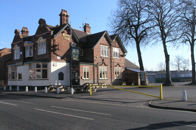 The Royal Oak, Tamworth Road, Long Eaton