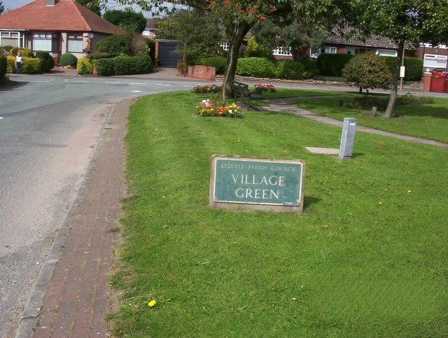 Lydiate Parish Council Village Green