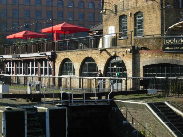 Hampstead Road Lock, Camden Town