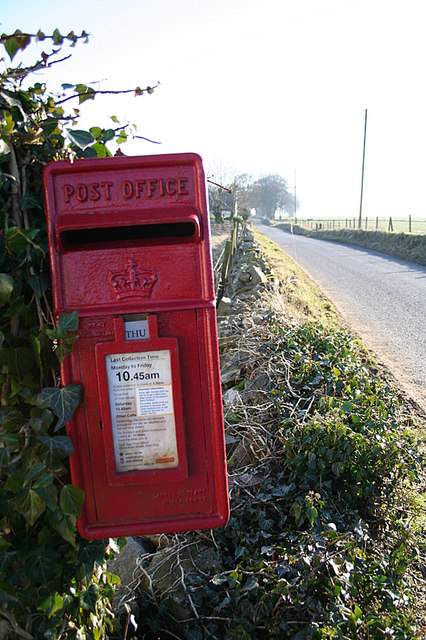 The postbox:  a British institution