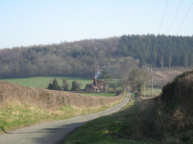 Down the lane to Pilgrim Cottage