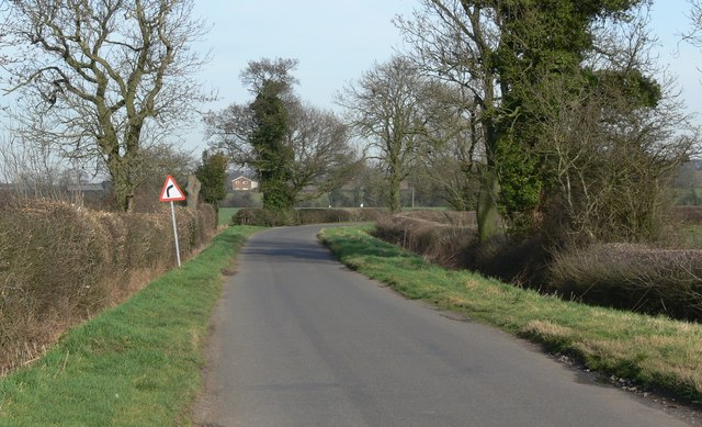 Twycross Lane in Leicestershire