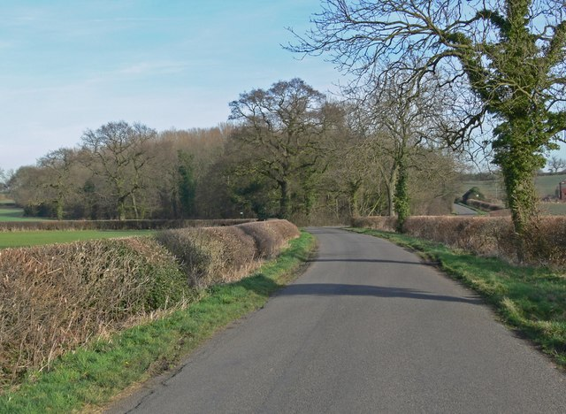 Orton Lane in Leicestershire