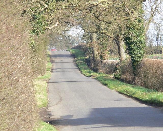 Orton Lane near Twycross, Leicestershire