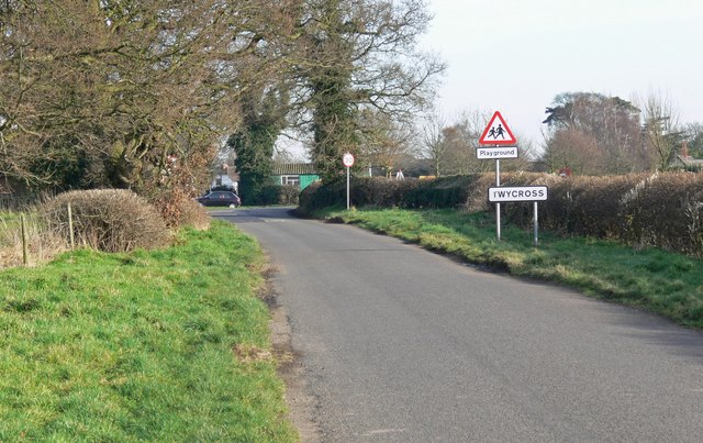Orton Lane in Twycross, Leicestershire