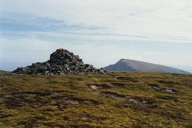 The summit of Aonach Mor